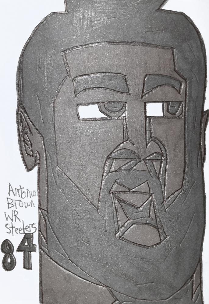 Antonio Brown por armattock